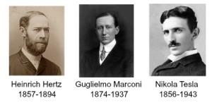 How the radio was born Hertz Tesla Marconi