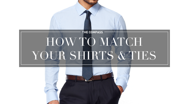 How to match your tie with the shirt?