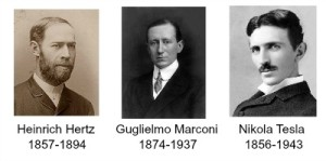 How the radio was born Hertz Tesla Marconi